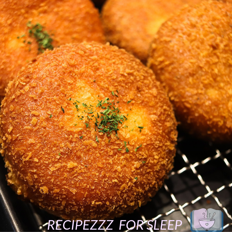 Croquettes with parsley